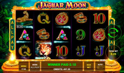 Огляд 2020 ігрового автомата Jaguar Moon