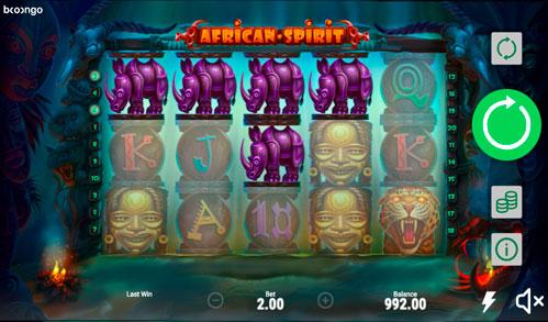 Виграшна комбінація ігрового автомати African Spirit