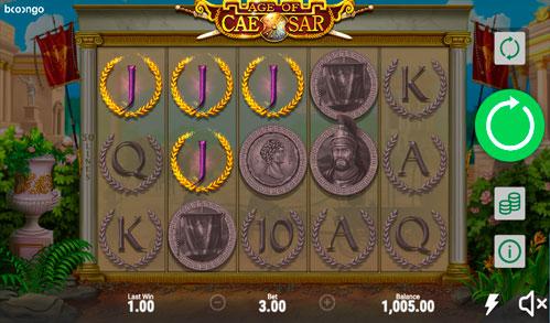 Age of Caesar Виграшна комбінація ігрового автомати