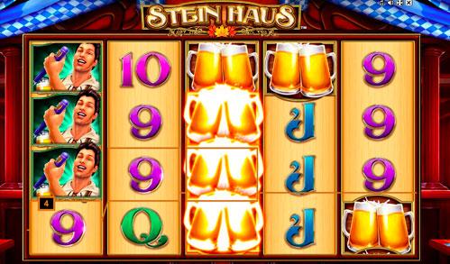 Виграшна комбінація ігрового автомати Stein Haus