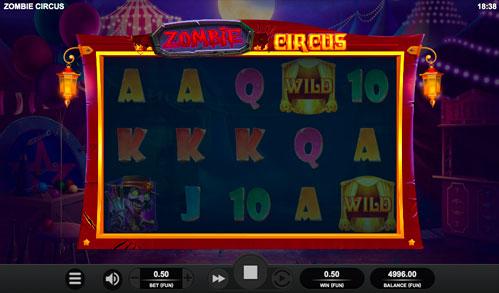 Zombie Circus Виграшна комбінація ігрового автомати